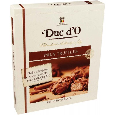 Duc dO Milk Chocolate Flaked Truffle GIft Box