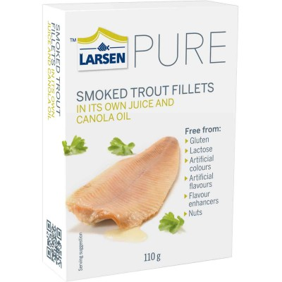 Larsen Smoked Trout in Rapeseed Oil