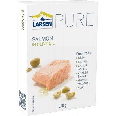 Larsen Salmon Fillets in Olive Oil