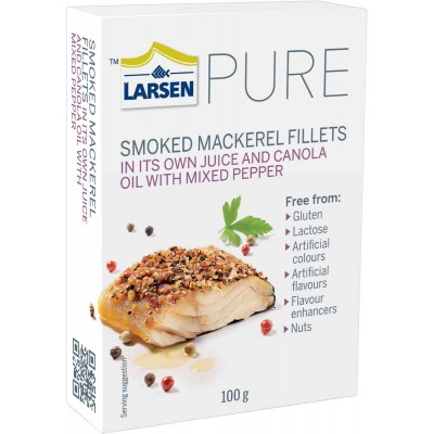 Larsen Smoked Peppered Herring in Oil