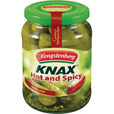 Hengstenberg Knax Hot & Spicy Pickles