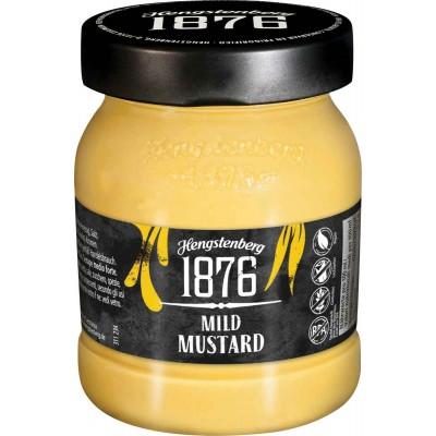 Hengstenberg 1876 Mild Mustard Jar