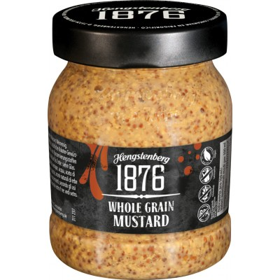 Hengstenberg 1876 Whole Grain Mustard Jar