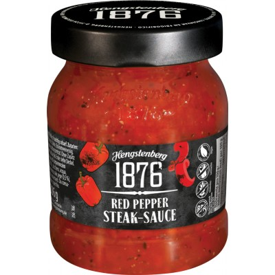 Hengstenberg 1876 Red Pepper Steak Sauce Jar