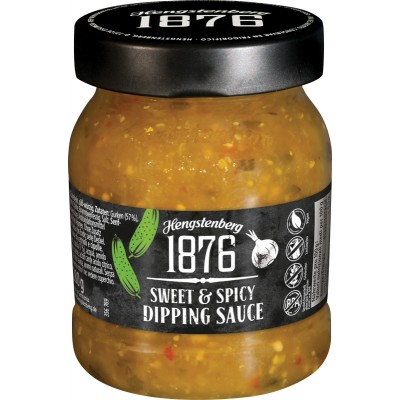 Hengstenberg 1876 Sweet & Spicy Dipping Sauce Jar