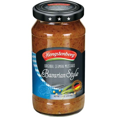 Hengstenberg Bavarian Sweet Mustard