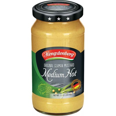 Hengstenberg Medium Hot Mustard