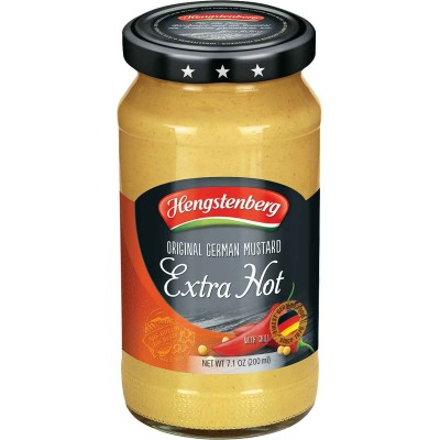 Hengstenberrg Hot Mustard