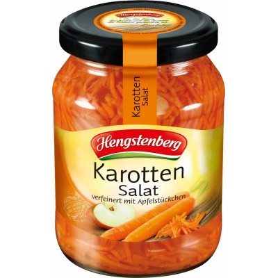 Hengstenberg Carrot Salad Jar