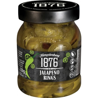 Hengstenberg 1876 Jalapeno Rings Jar