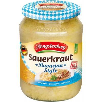Hengstenberg Bavarian Wine Sauerkraut