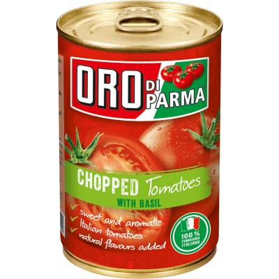 Oro di Parma Chopped Tomatoes with Basil