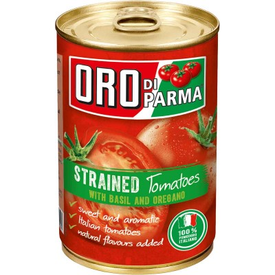 Oro di Parma Strained Tomatoes with Basil and Oregano