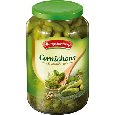 Hengstenberg Cornichons with Herbs Bulk