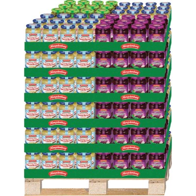 Hengstenberg Mixed Pallet Display
