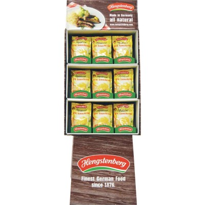 Hengstenberg Mildessa Sauerkraut Pouch Display
