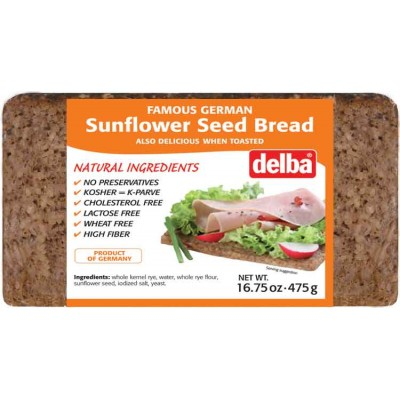 Delba Sunflower Seed Bread