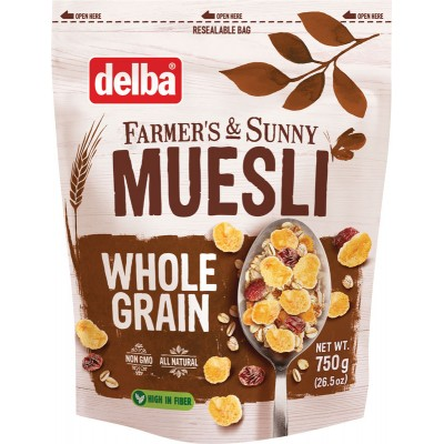 Delba Whole Grain Muesli