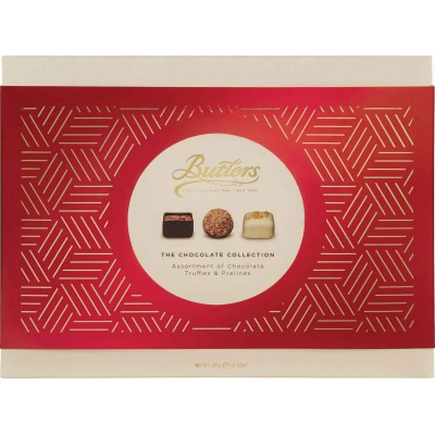 Butlers Red Chocolate Collection Box
