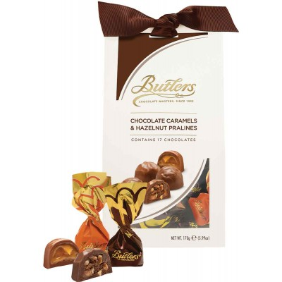 Butlers Carmale and Hazelnut Pralines