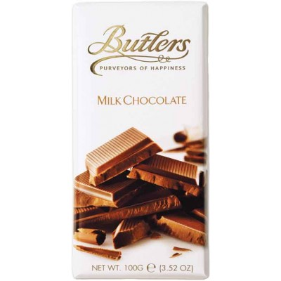 Butlers Milk Chocolate Bars