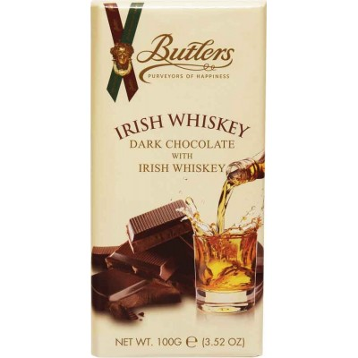Butlers Irish Whiskey Dark Chocolate Bars