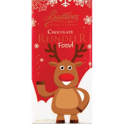 Butlers Reindeer Food Milk Chocolate Bar