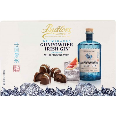 Butlers Gunpowder Irish Gin Milk Chocolate Truffles