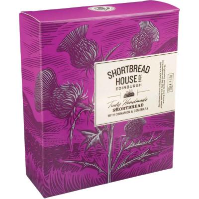 Shortbread House of Edinburgh Shortbread with Cinnamon & Demerara Sugar