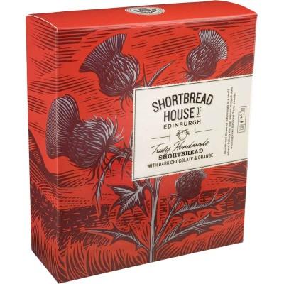 Shortbread House of Edinburgh Chocolate Orange Shortbread Box