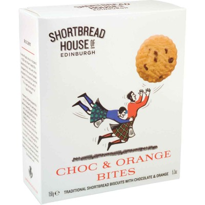 Shortbread House of Edinburgh Chocolate Orange Shortbread Bites