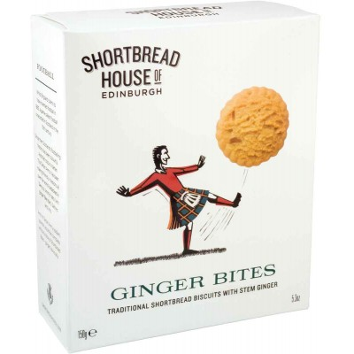 Shortbread House of Edinburgh Stem Ginger Shortbread Bites Box