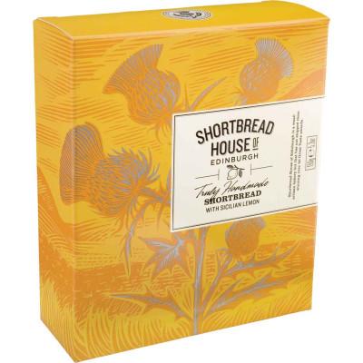 Shortbread House of Edinburgh Sicilian Lemon Shortbread Box