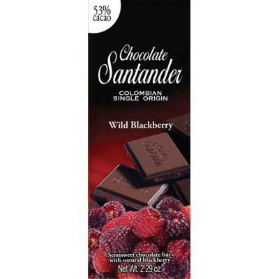 Chocolate Santander 70% Cacao with Wild Berry Chocolate Bar
