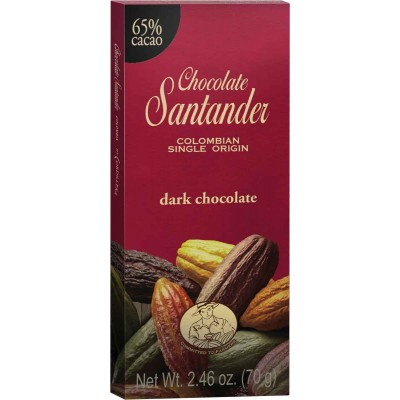 Chocolate Santander 65% Cacao Dark Chocolate Bar