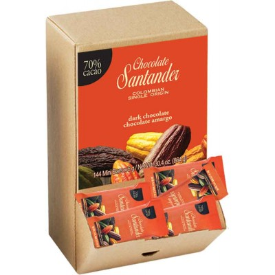 Chocolate Santander 70% Cacao Mini Dark Chocolate Bar