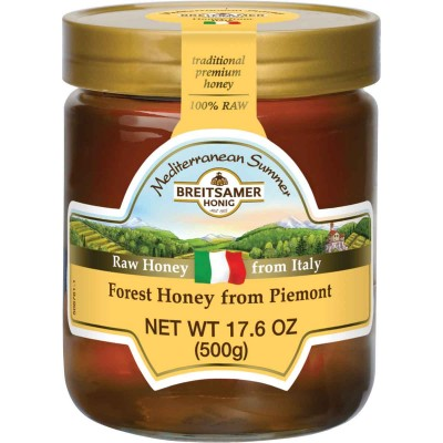 Mediterranean Summer Piemont Forest Honey