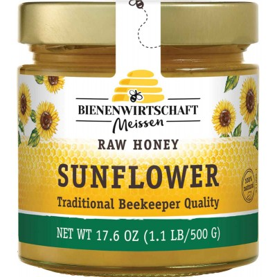 Bienenwirtschaft Sunflower Honey Jar