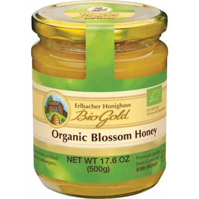 BioGold Organic Blossom Honey