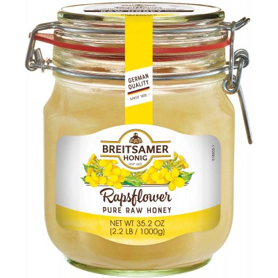 Breitsamer Creamy Rapsflower Honey