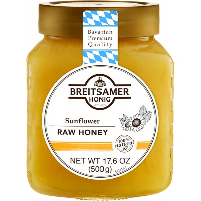 Breitsamer Sunflower Creamy Honey Jar