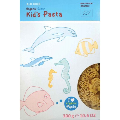 Alb Gold Organic Ocean Shapes Kids Pasta
