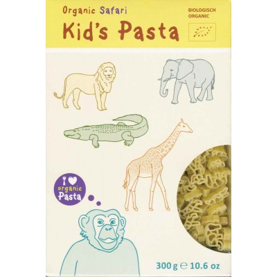 Alb-Gold Organic Safari Shapes Kid Pasta