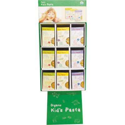 Alb Gold Assorted Organic Kids Pasta Display
