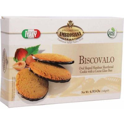 Ambrosiana Biscovalo Hazelnut Shortbread
