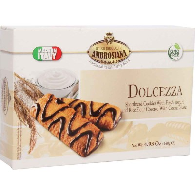Ambrosiana Dolcezza Yogurt Rice Flour with Cocoa Glaze