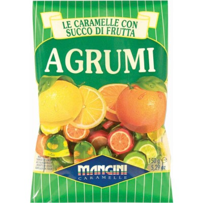 Mangini Agrumi Assorted Citrus Bon Bons