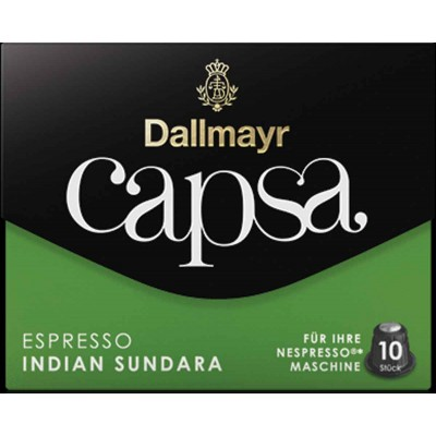 Dallmayr Espresso Indian Sundara Capsa Coffee for Nespresso