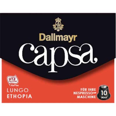 Dallmayr Lungo Ethiopia Capsa Coffee for Nespresso