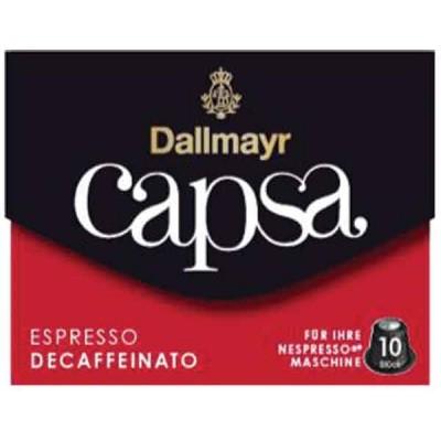 Dallmayr Espresso Decaffeinato Capsa Coffee for Nespresso